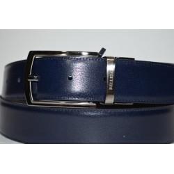 Miguel Bellido: Cinturón reversible negro/azul