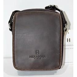 HEXÁGONA: bolso de caballero pequeño 15cm.