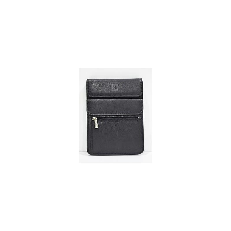 HEXÁGONA: bolso de caballero pequeño 16cm.