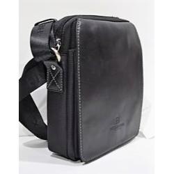 HEXÁGONA: bolso de caballero 21 cm.
