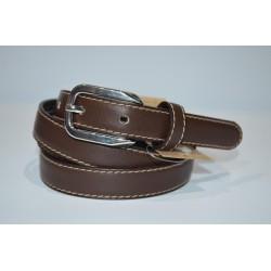 ELIAL: Cinturón sra. piel 2 cm. marrón.