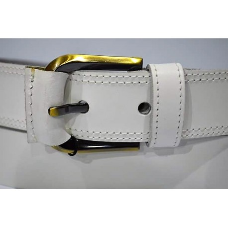 Emilio Faraoni: Cinturón sra. piel 3.5 cm.