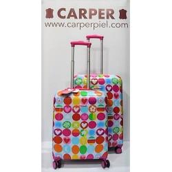 AGATHA RUIZ DE LA PRADA: Set maletas