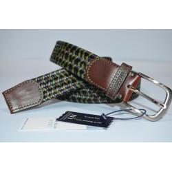 Miguel Bellido: Cinturón trenzado/elástico