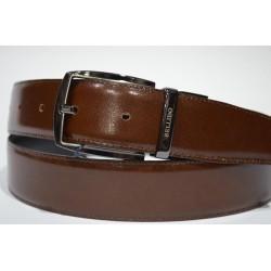 Miguel Bellido: Cinturón reversible de piel 32 mm.