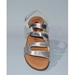Jordana: Sandalia cómoda planta de gel.