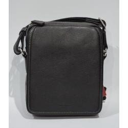 HEXAGONA: Bolso de caballero 21 cm. de piel