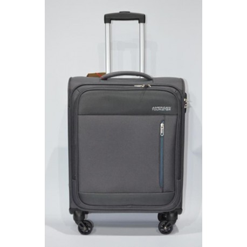 AMERICAN TOURISTER: HEAT WEAVE maleta cabina 4R GRIS
