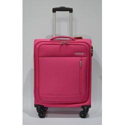 AMERICAN TOURISTER: HEAT WEAVE maleta cabina 4R FUCSIA