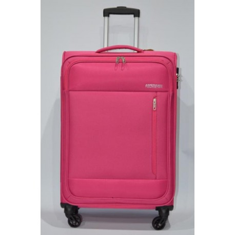 AMERICAN TOURISTER: HEAT WEAVE maleta mediana 4R FUCSIA