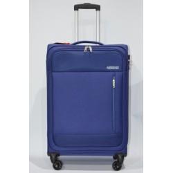 AMERICAN TOURISTER: HEAT WEAVE maleta mediana 4R AZUL