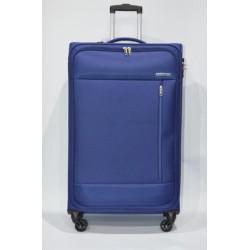 AMERICAN TOURISTER: HEAT WEAVE maleta grande 4R AZUL