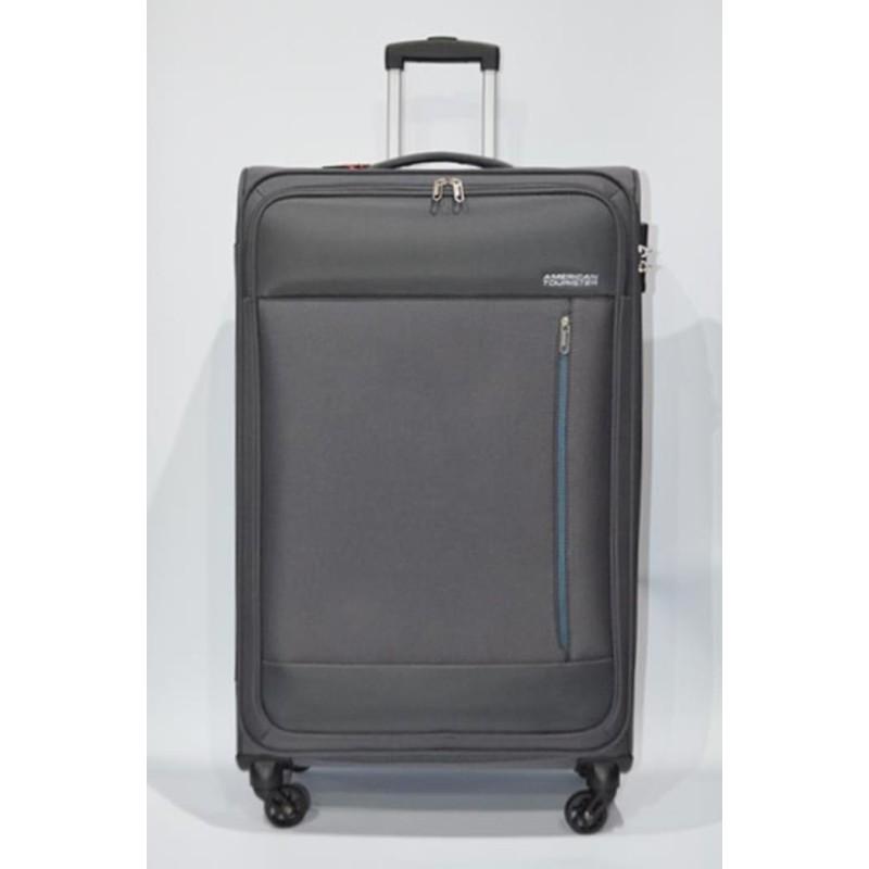 AMERICAN TOURISTER: HEAT WEAVE maleta grande 4R GRIS