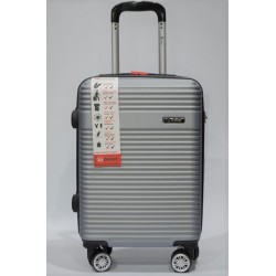 BENZI: Maleta de cabina ABS 4R 102318 plata