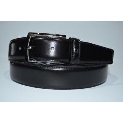 Miguel Bellido: Cinturón de hombre en piel 102845/ 32mm. negro