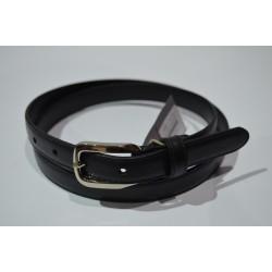 ELIAL: Cinturón MUJER piel 2 cm. 102999-NEGRO