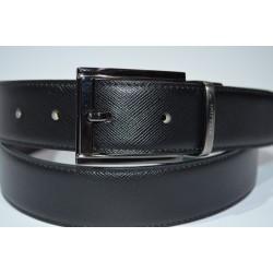 Miguel Bellido: Cinturón reversible negro/marón 100305