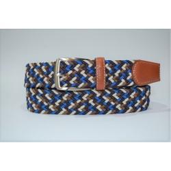 Miguel Bellido: cinturón trenzado elástico 394-35-multicolor-99