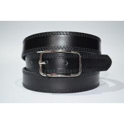 Emilio Faraoni: Cinturón sra. piel 4965-25-negro