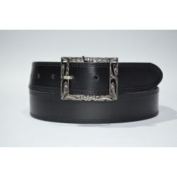 Emilio Faraoni: Cinturón mujer piel 5651-40-negro