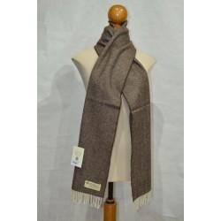 Bufanda de Grazalema Espiga/marrón