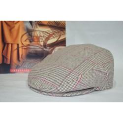 Gorra de Grazalema Principe de gales/rojo