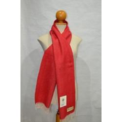 Bufanda de Grazalema espiga/roja