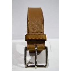 ROBERTO BELLIDO: Cinturón 4 cm. avellana