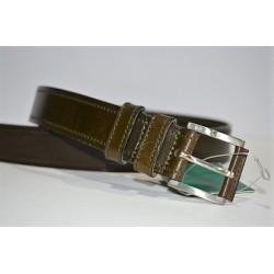 ROBERTO BELLIDO: Cinturón de vaquetilla de 3 cm.
