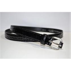 ROBERTO BELLIDO: Cinturón de charol de 2 cm.