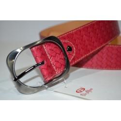ELIAL: Cinturon sra. color rojo 4 cm.