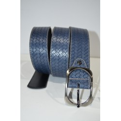 ELIAL: Cinturon sra. color azul 4 cm.