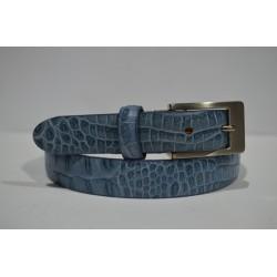 ELIAL: Cinturon sra. color azul 2.5 cm.
