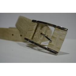 ELIAL: Cinturón sra. color beige 3.5 cm.