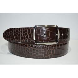 ELIAL: Cinturón sra. color marrón 3.5 cm.