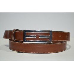 ELIAL: Cinturón sra. coñac 2.5 cm.