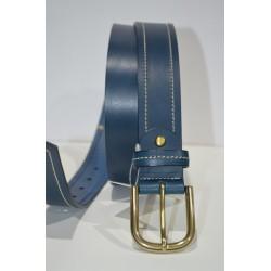 ELIAL: Cinturón sra. azul 3.5 cm.