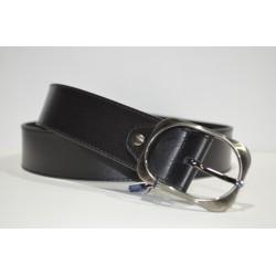 ELIAL: Cinturón sra. negro 4 cm.