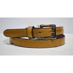 ELIAL: Cinturón sra. camel 2 cm.