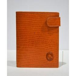 Piel de Ubrique: cartera con monedero 11 cm.