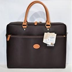 EL POTRO: Bolso portadocumentos marron