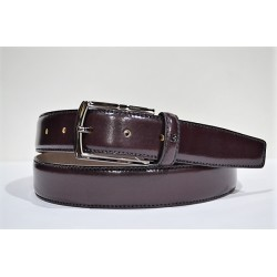 Miguel Bellido: Cinturon vestir burdeos