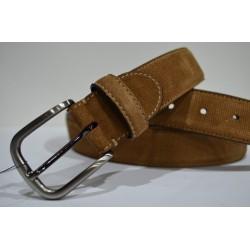 Miguel Bellido: Cinturón de piel sport.