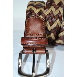 Miguel Bellido: Cinturón trenzado.