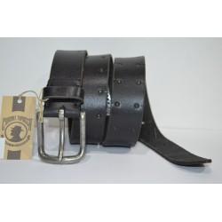 CORONEL TAPIOCCA: cinturón negro 40mm.
