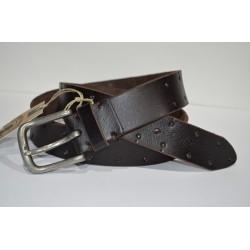 CORONEL TAPIOCCA: cinturón marrón 40mm.