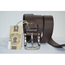 CORONEL TAPIOCCA: cinturón marrón 35 mm.