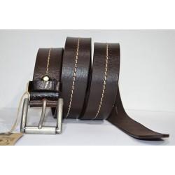 CORONEL TAPIOCCA: cinturón marrón 40 mm.