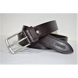 PRIVATTA: cinturón marrón 35 mm.