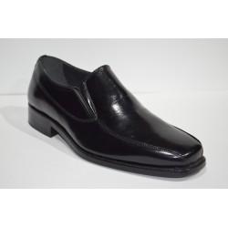 PACO CANTOS: Zapato de vestir de piel.